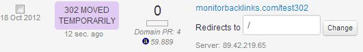 302 error