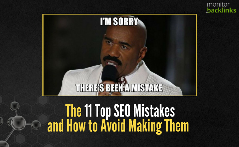 top-11-seo-mistakes-to-avoid