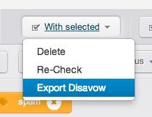 export disavow
