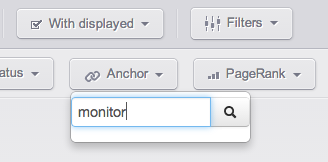 keywords with monitor