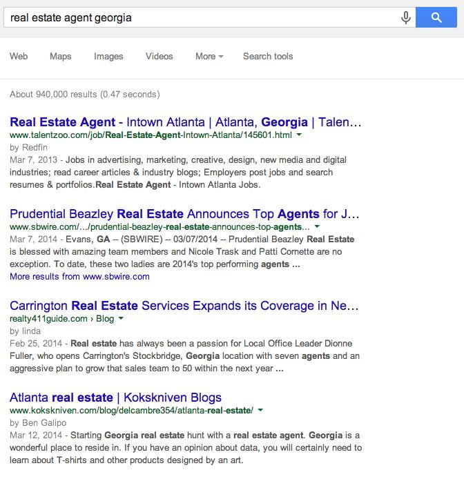 real estate georgia blogs