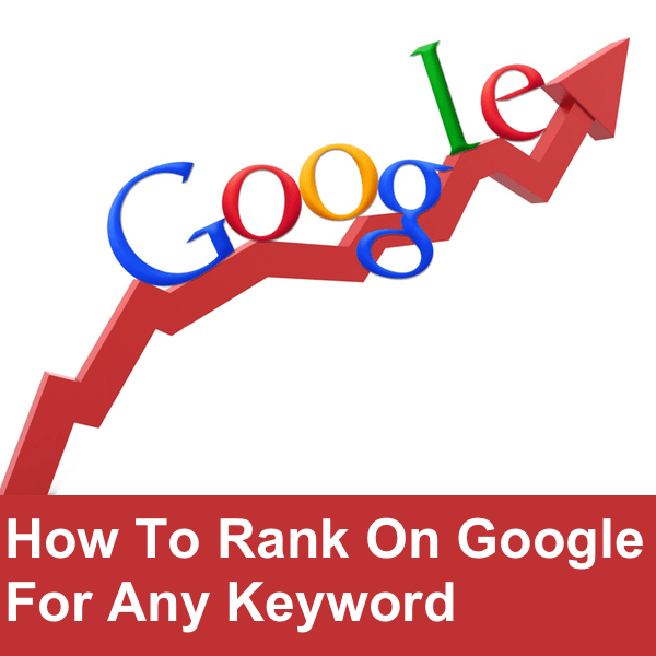 how to rank on Google