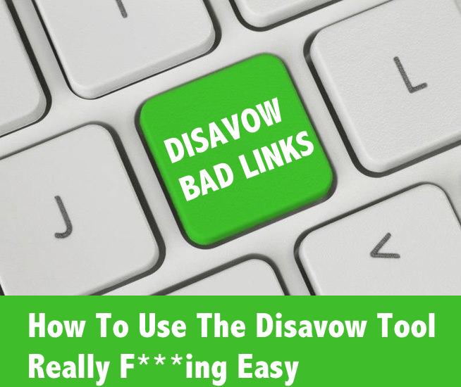 disavow bad links