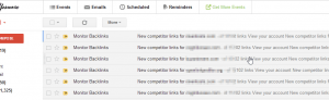 competitor links email alerts
