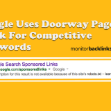 Google Uses Doorways Pages To Rank In Searches