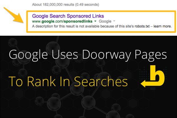 google-using-doorway-pages