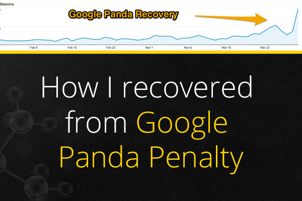 recover from google panda penalty