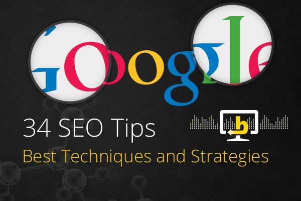 ✅ 34 Search Engine Optimization Tips - Best SEO strategies
