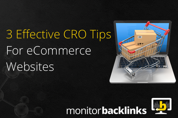 effective CRO tips for ecommerce