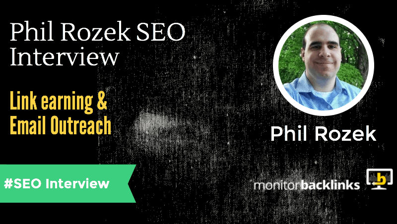 Phil Rozek interview about SEO