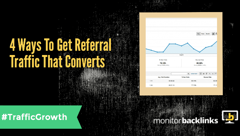 get referral traffic that converts