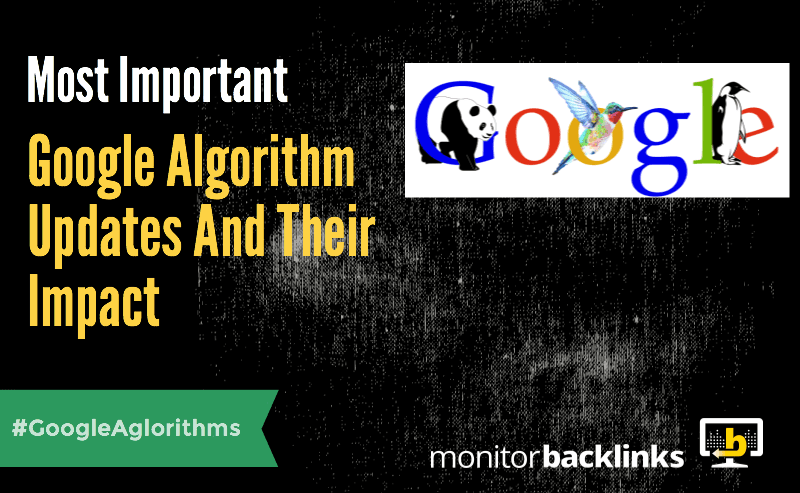 Most Important Google Algorithm Updates And Their Impacts