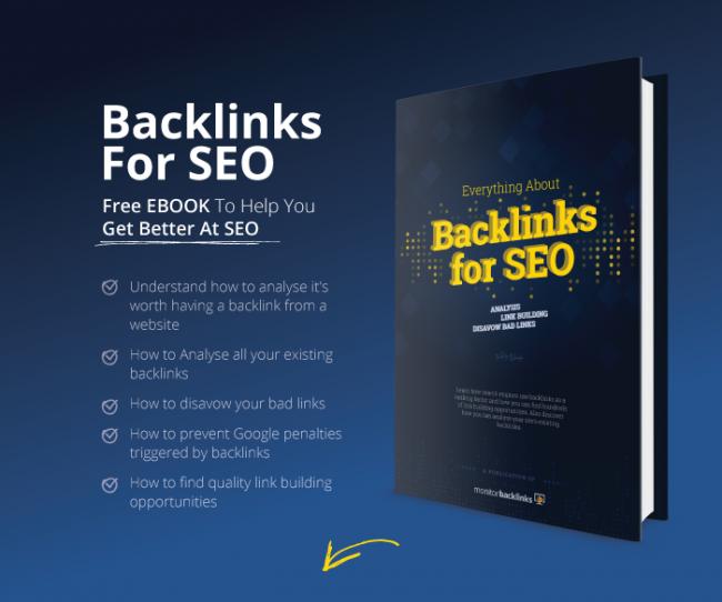 monitor backlinks EBOOK
