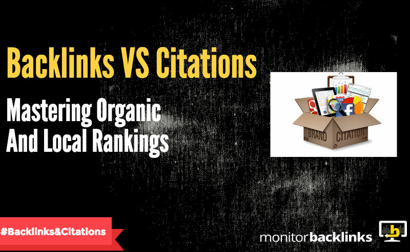 Backlinks VS Citations