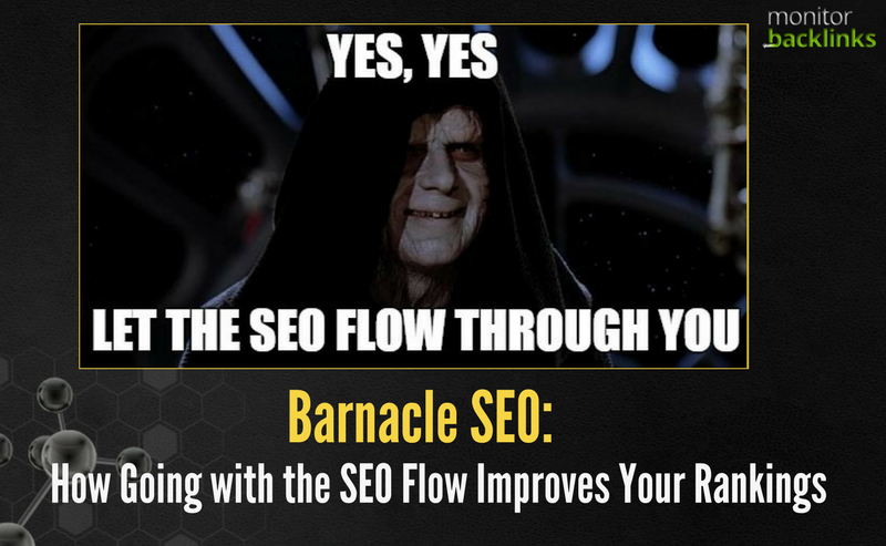 Barnacle SEO: How Going with the SEO Flow Improves Your
