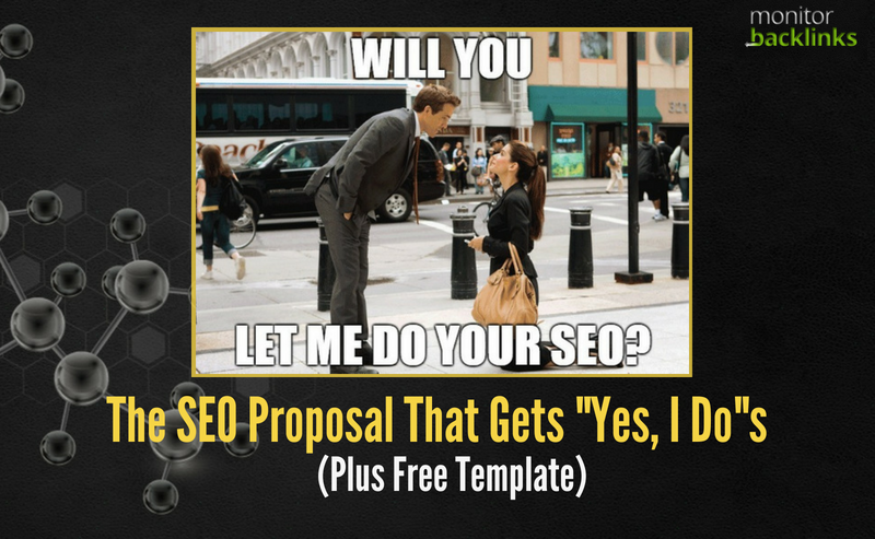 The Seo Proposal That Gets Yes I Do S Plus Free Template