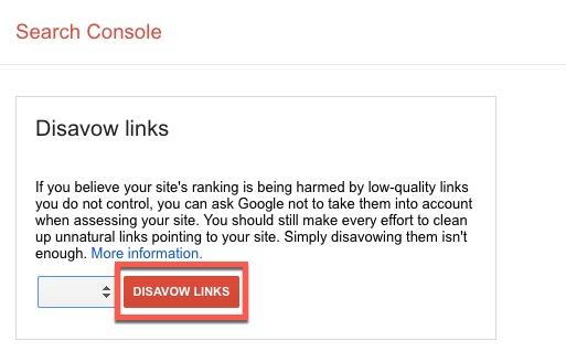 disavow-url