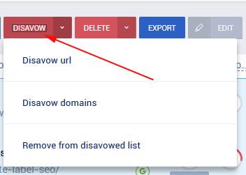 disavow file generator