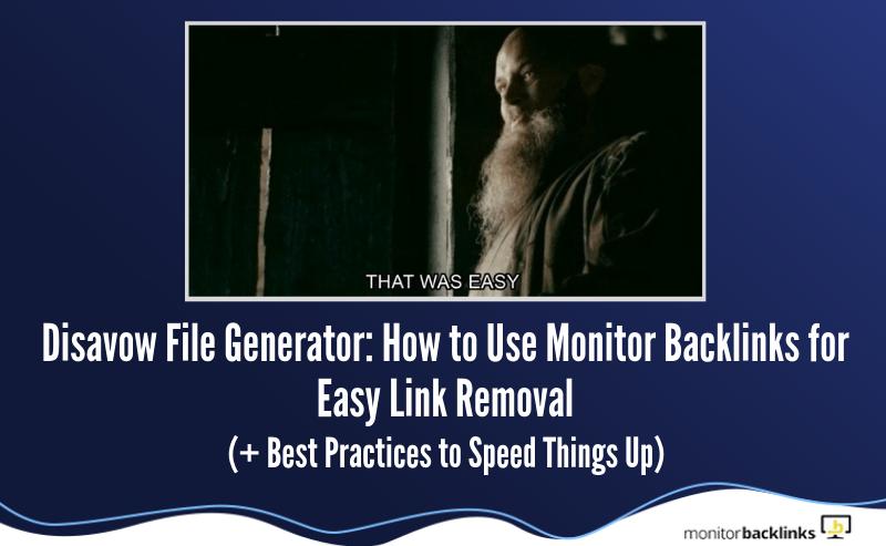 disavow-file-generator